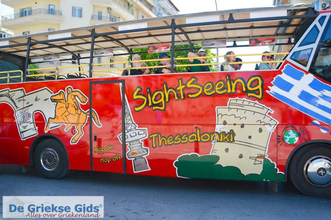 Sightseeing bus thessaloniki
